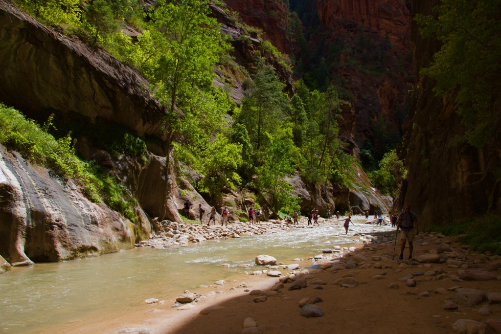 The Narrows at Zion National Park 2